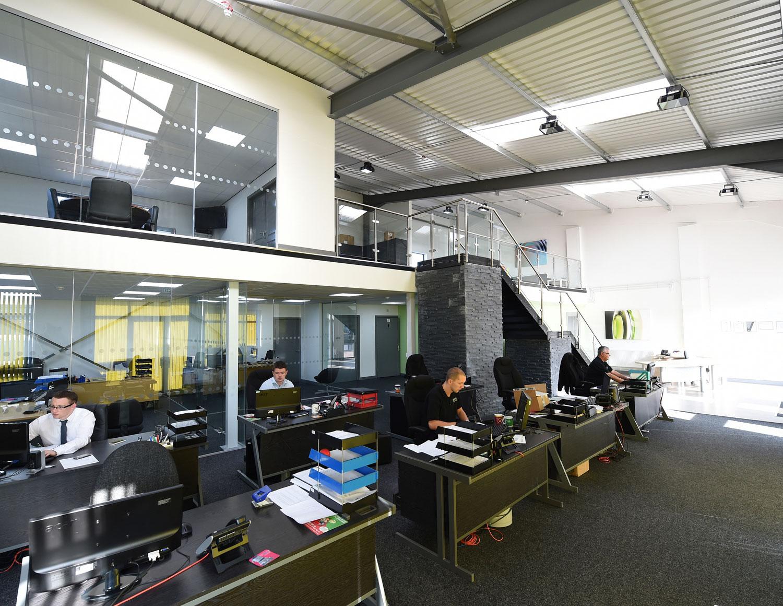 momentum at buckshaw village office interior